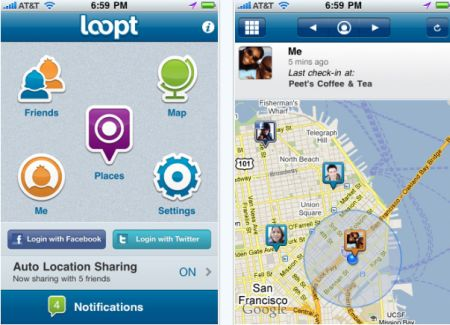 loopt Top 100 Best Free iPhone 4 Apps