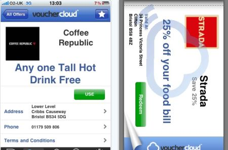 vouchercloud Top 100 Best Free iPhone 4 Apps