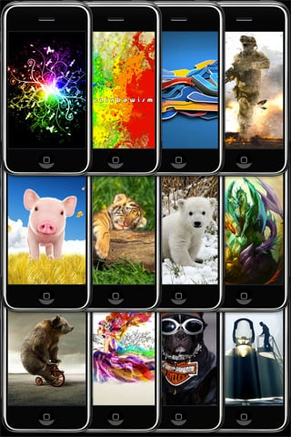 wallpapers app Top 100 Best Free iPhone 4 Apps