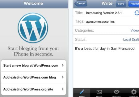 wordpress Top 100 Best Free iPhone 4 Apps