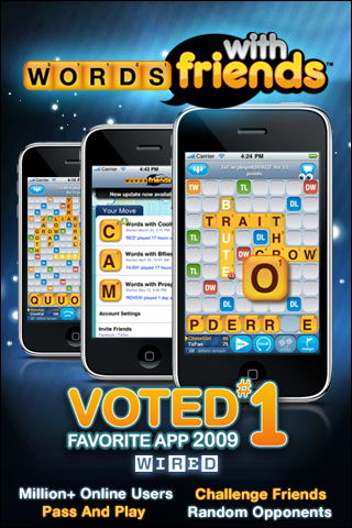words with friend Top 100 Best Free iPhone 4 Apps