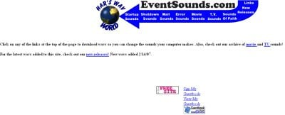 Event Sounds