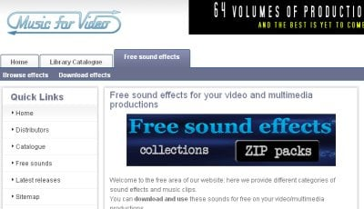 Free Sound Effects Collections 50+ Best Sites To Download Free Sound Effects