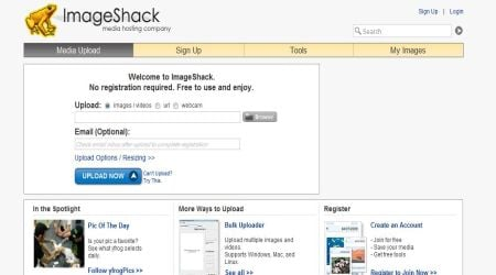 Imageshack1 Best Photo Sharing Sites To Create Photography Portfolios