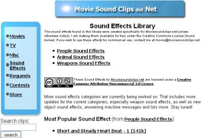 Movie Sound Clips