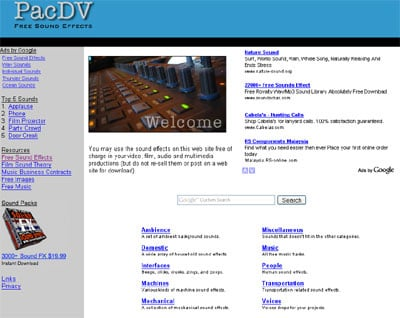 Pac DV 50+ Best Sites To Download Free Sound Effects