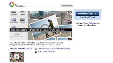 Picasa1 Best Photo Sharing Sites To Create Photography Portfolios