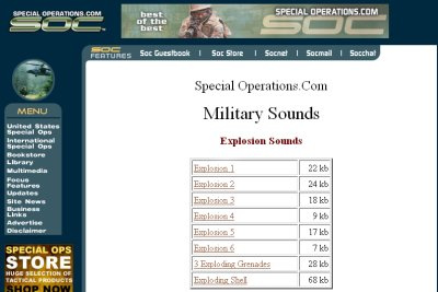 Special Operations 50+ Best Sites To Download Free Sound Effects