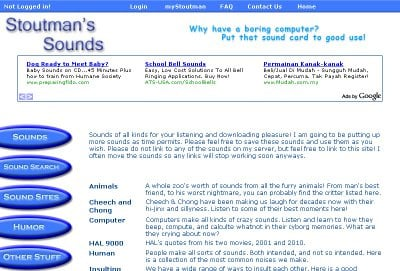 Stoutman's Sounds 50+ Best Sites To Download Free Sound Effects
