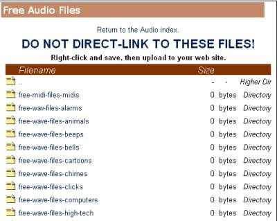 Tintagel's Free Sound File Archive 50+ Best Sites To Download Free Sound Effects