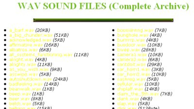 Wav Sound Files 50+ Best Sites To Download Free Sound Effects
