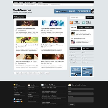 Best Free PSD Website Templates