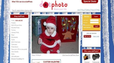 dotphoto5 15+ Best Free Photo Sharing Sites For Photographers To Create Portfolio