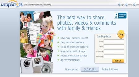 dropshot2 15+ Best Free Photo Sharing Sites For Photographers To Create Portfolio
