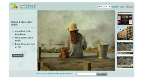go2album1 Best Photo Sharing Sites To Create Photography Portfolios