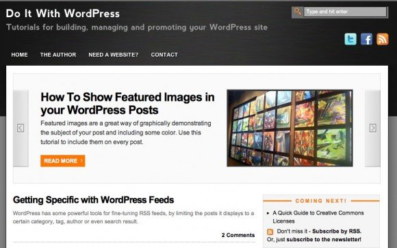 Do it with WordPress