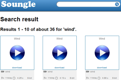 soungle 50+ Best Sites To Download Free Sound Effects