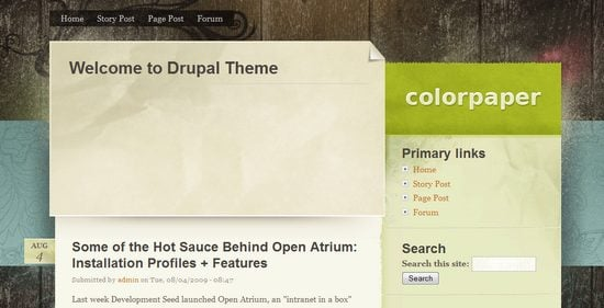 best free drupal theme14 40 High Quality Drupal Themes For Free Download