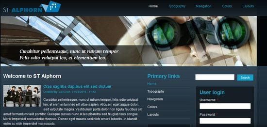 best free drupal theme21 40 High Quality Drupal Themes For Free Download