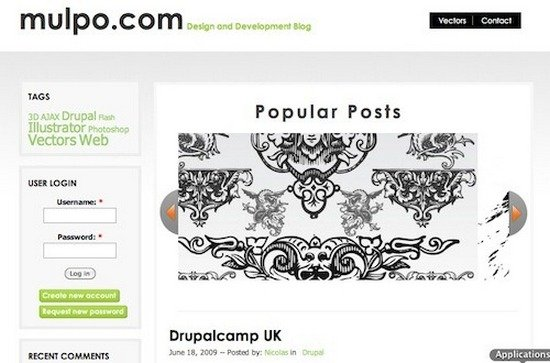 best free drupal theme24 40 High Quality Drupal Themes For Free Download