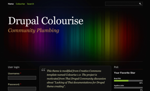 best free drupal theme34 e1300085721588 40 High Quality Drupal Themes For Free Download