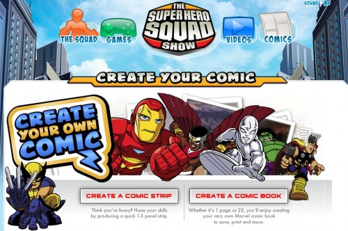screen capture 42 e1301549905804 11 Great Sites To Create Your Own Comics Online For Free