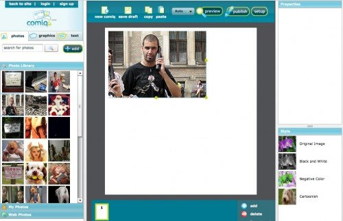 screen capture 61 e1301550449931 11 Great Sites To Create Your Own Comics Online For Free
