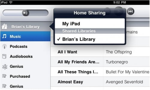 How To Enable iOS 4.3 iTunes Home Sharing Feature On ...