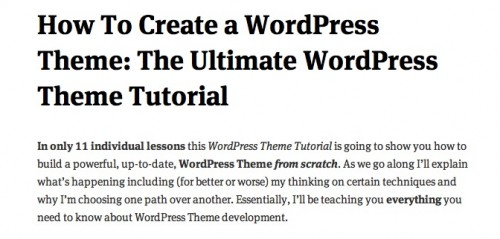 screen capture 91 e1299565305309 8 Fantastic Tutorials On How To Build Your Own Custom WordPress Theme