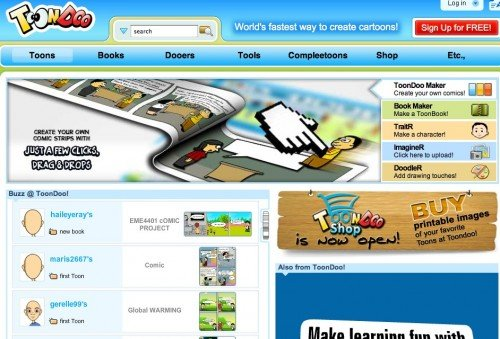 screen capture 95 e1301551354758 11 Great Sites To Create Your Own Comics Online For Free
