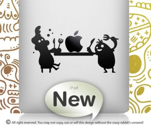 iPad Vinyl Decals And Stickers