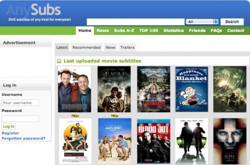 Subtitles  movie subtitles free download Large database