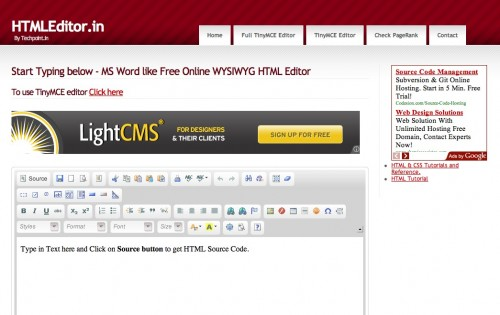 screen capture 9 e1301982877399 Top 10 Online HTML Editors That Are Simple And Free To Use