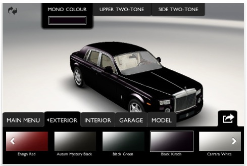 Rolls Royce Phantom unique as a fingerprint