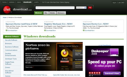downloadcom Top 10 Best Free Software Download Sites