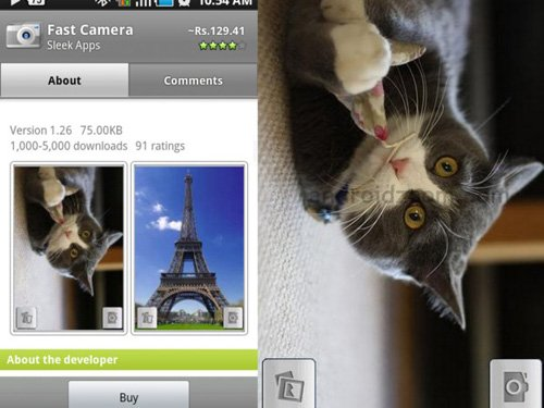 fast camera Android Apps : 20 Best Android Apps For Photography Expert