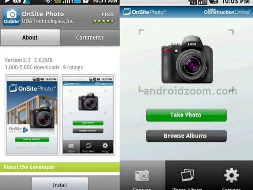 onsite photo Android Apps : 20 Best Android Apps For Photography Expert