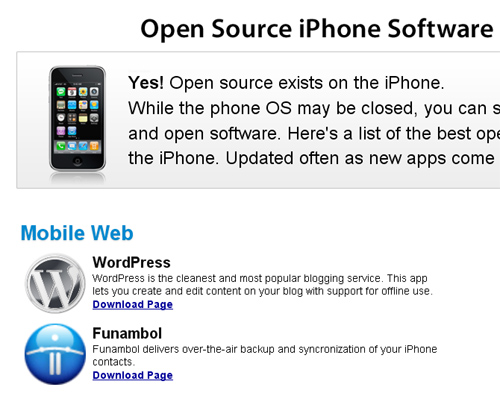 open source iphone software Top 10 Best Free Software Download Sites