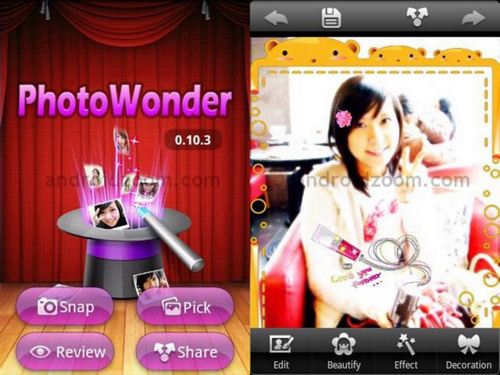 photowonder Android Apps : 20 Best Android Apps For Photography Expert