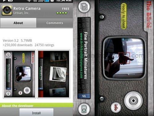 retro camera Android Apps : 20 Best Android Apps For Photography Expert
