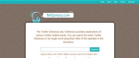 Twittonary