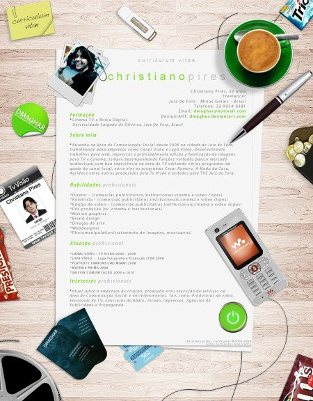 154 e1269806256488 Best Creative Resumes Examples and Ideas of All Time | Top 100 Resume Samples