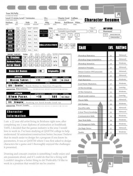 184 e1269807030455 Best Creative Resumes Examples and Ideas of All Time