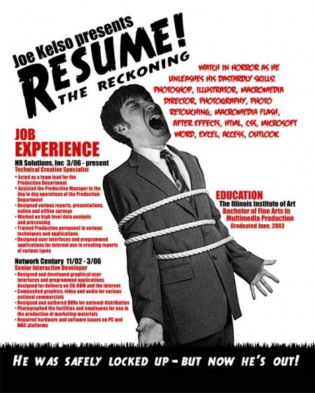 265 e1269809106277 Best Creative Resumes Examples and Ideas of All Time | Top 100 Resume Samples