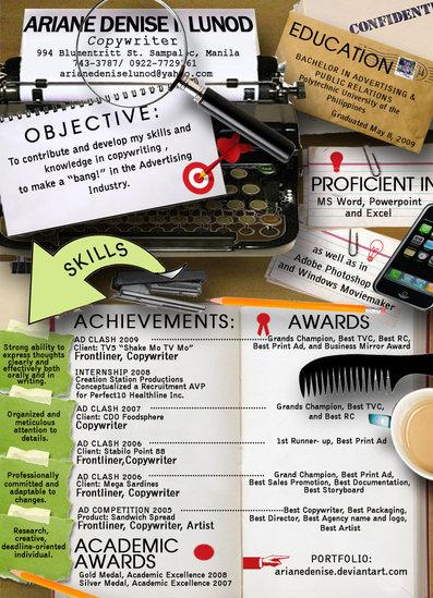 317 Best Creative Resumes Examples and Ideas of All Time | Top 100 Resume Samples