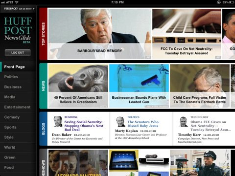 Screenshot iPad 1