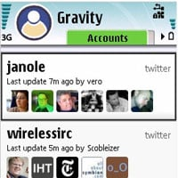 Gravity Twitter and Facebook app for Nokia N8 Best 27 Apps for Nokia N8 Mobile Phone