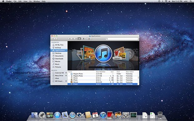 OS X Lion - Apple OS X Lion released today