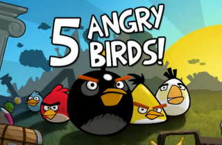 angry birds Best 27 Apps for Nokia N8 Mobile Phone