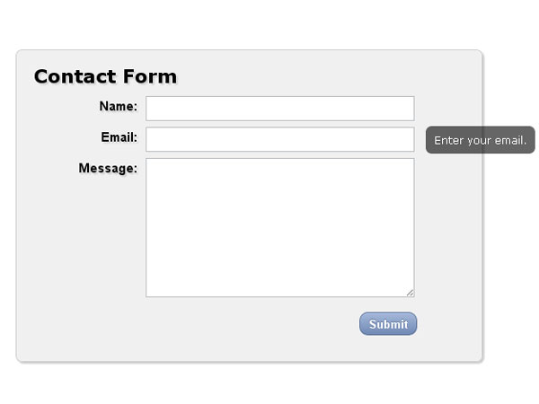 CSS3 form 7